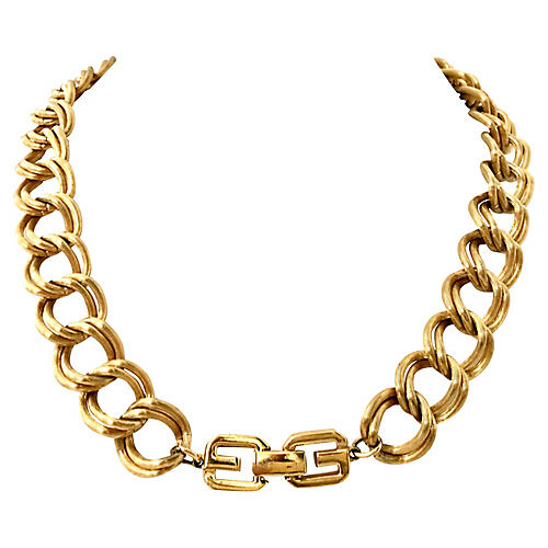 Givenchy Chain Link Choker