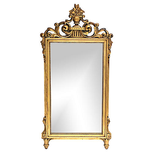 French Regency Gold Leaf Mirror