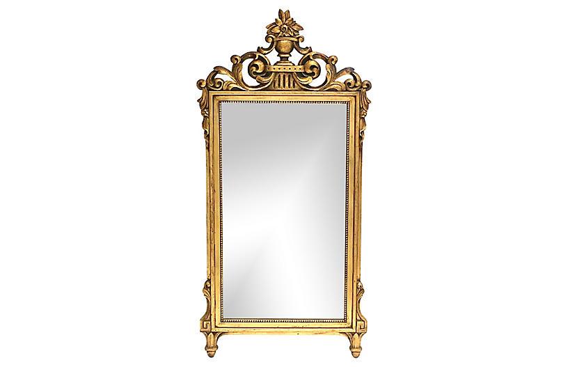 French Regency Gold Leaf Mirror