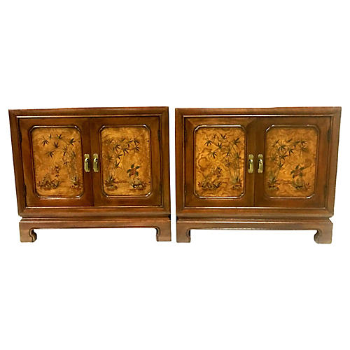 John Widdicomb Nightstands, Pair
