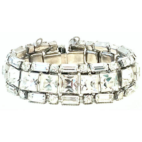 Crystal Weiss Bracelet