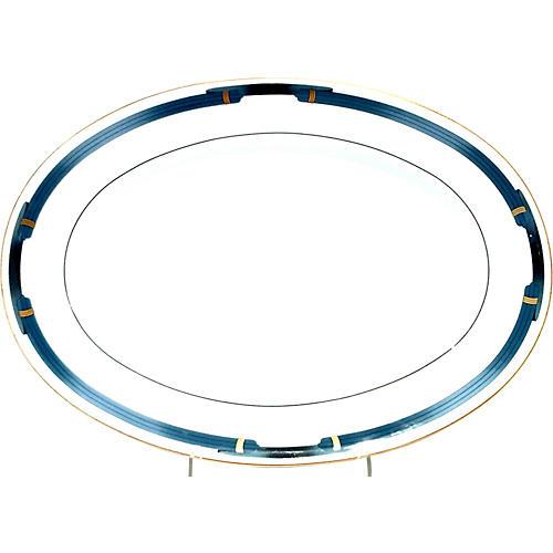 Christofle Paris Porcelain Oval Platter