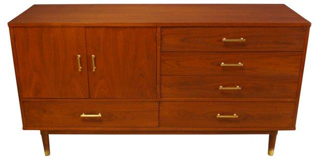 Walnut Dresser by Drexel