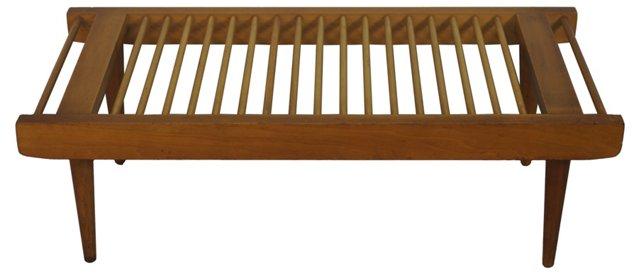 Dowel Bench by Milo Baughman