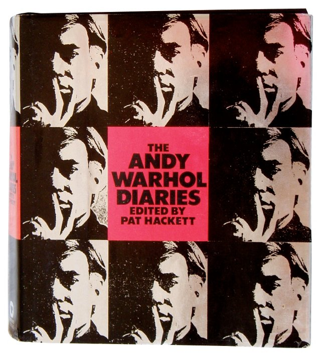The Andy Warhol Diaries, 1st Printing