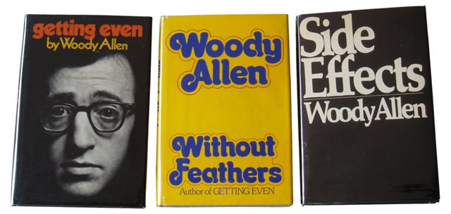 Woody Allen First Editions, S/3