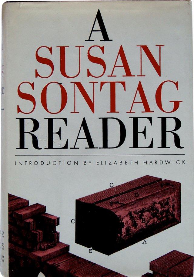 A Susan Sontag Reader, Signed