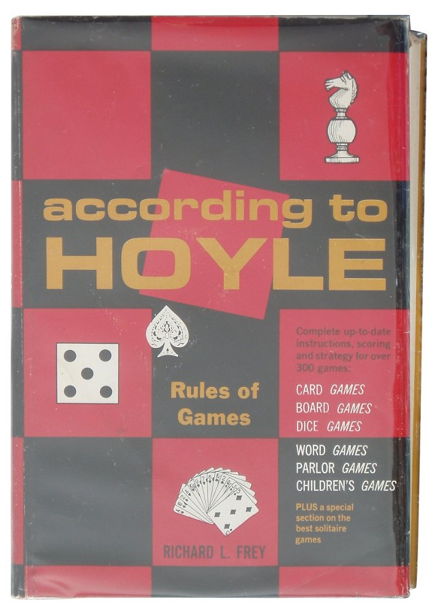 According to Hoyle: Rules of Games
