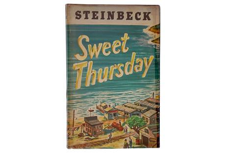 Sweet  Thursday by John Steinbeck, 1st