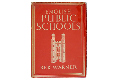 English Public Schools, 1st Print, 1945