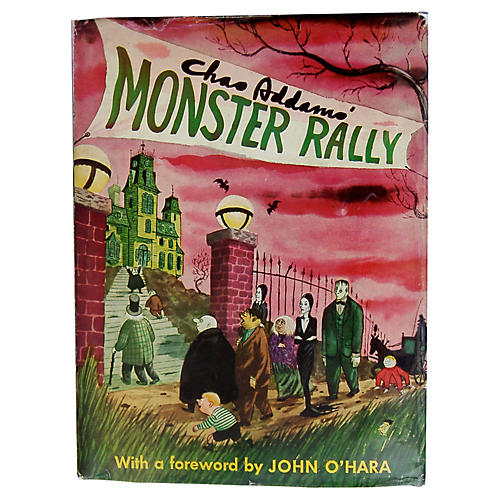 Charles Addams's Monster Rally, 1950