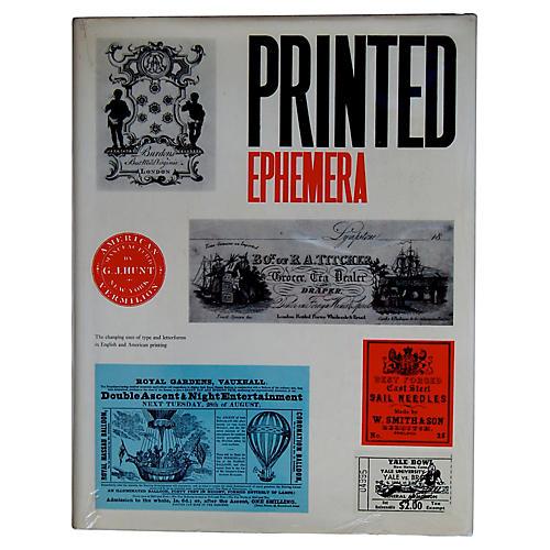 Printed Ephemera: Changing Uses of Type