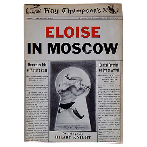 Eloise in Moscow, First Printing