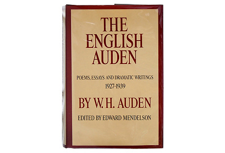 The English Auden, First Printing