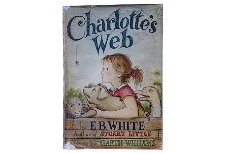 Charlotte's Web, 1st Ed