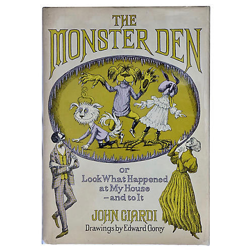 The Monster Den, Illus. Edward Gorey