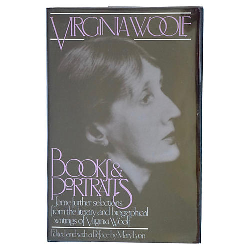 Virginia Woolf: Books and Portraits, 1st