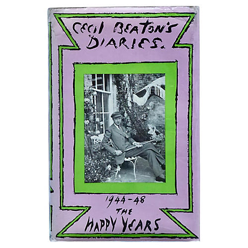 Cecil Beaton's Diaries, 1944-48, Signed