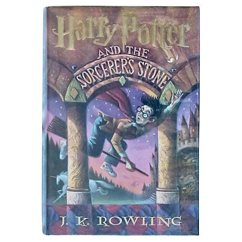 Harry Potter & Sorcerer's Stone, Signed