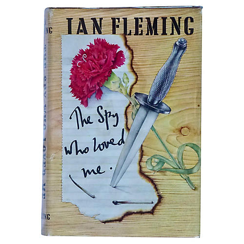 Fleming's The Spy Who Loved Me, US 1st
