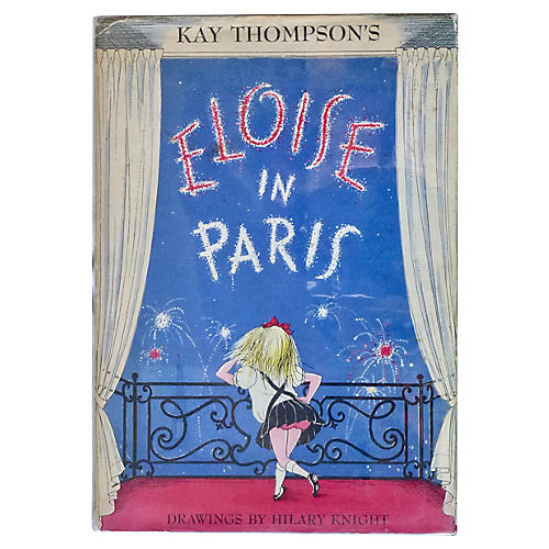 Eloise in Paris, UK 1st Printing