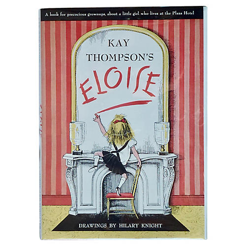 Kay Thompson's Eloise, Signed by Author