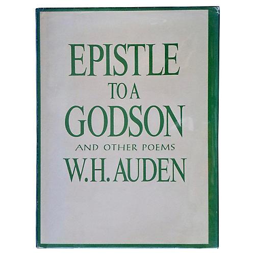 W. H. Auden's Epistle To A Godson, 1st
