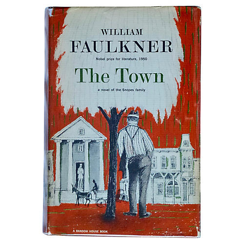 Faulkner's The Town, First Printing