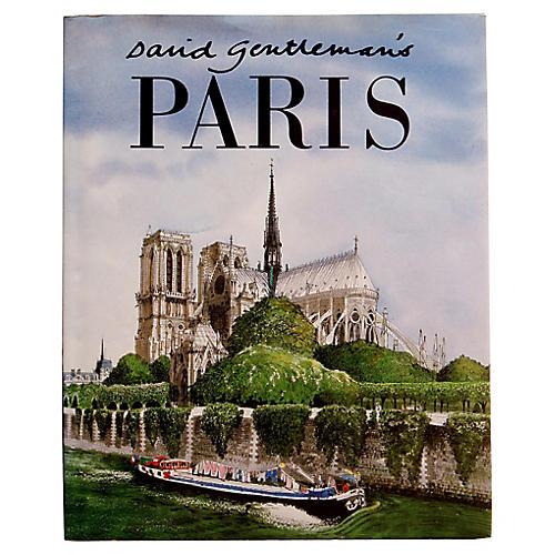 David Gentleman's Paris, 1st Printing