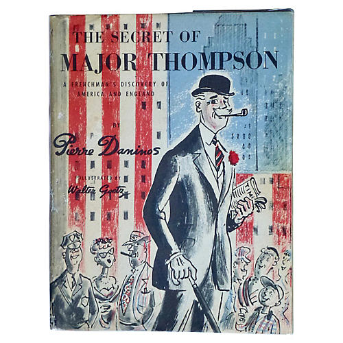 The Secret of Major Thompson, 1st Print