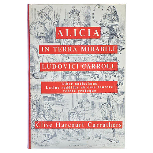 Alice in Wonderland, Latin Ed.