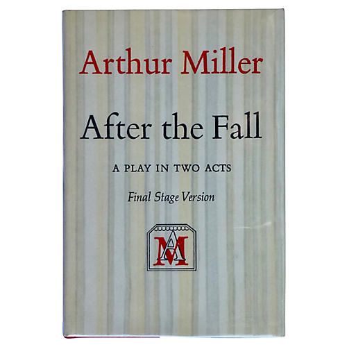 Arthur Miller's After the Fall, Signed