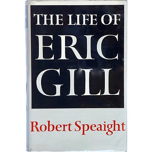 The Life of Eric Gill, 1st Printing