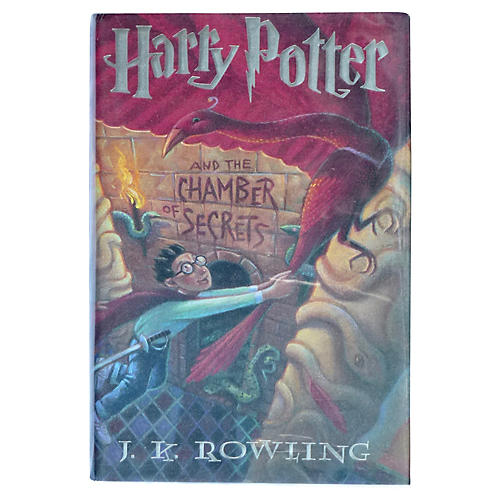 Signed Harry Potter & Chamber of Secrets