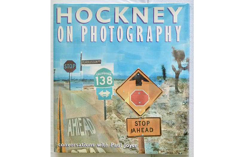 Hockney on Photography, 1st Printing