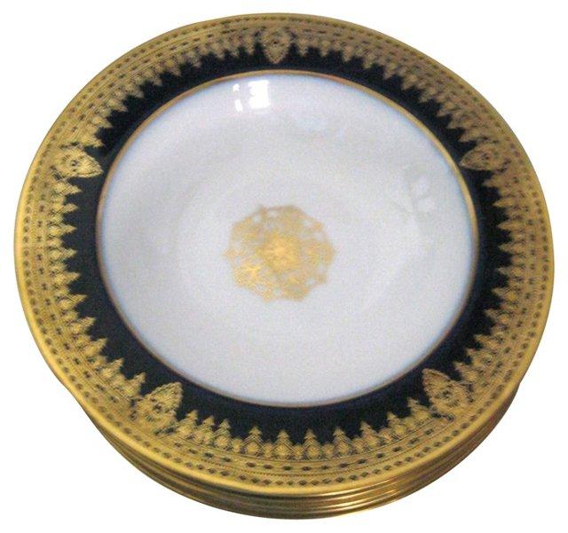 Limoges Soup Bowls, Set of 6