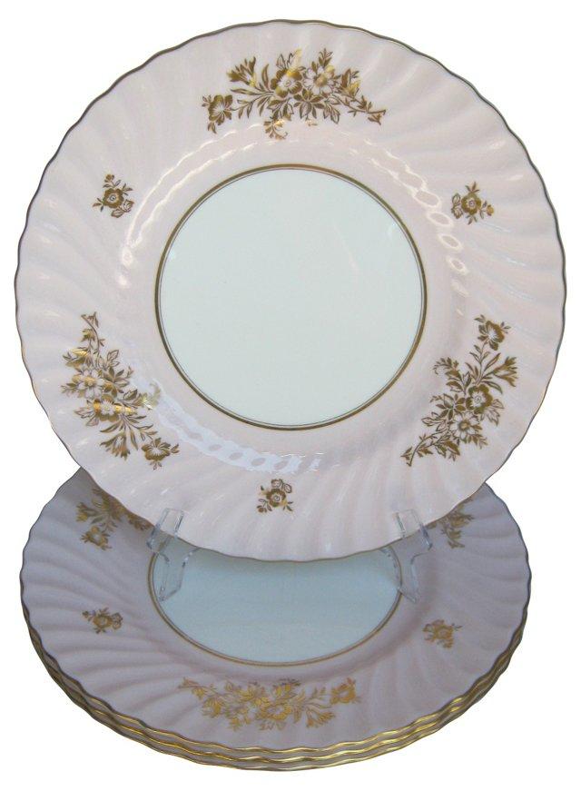 Minton Dinner Plates, S/4