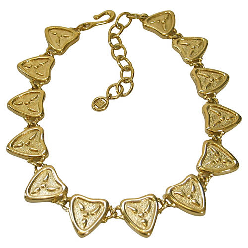 Givenchy Modernist Gold-Plated Necklace