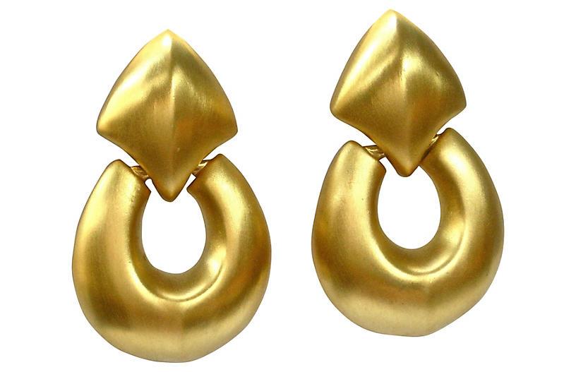 Oversize Givenchy Knocker Earrings