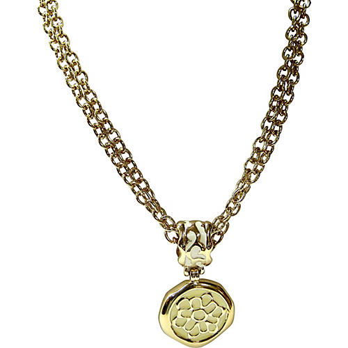 Givenchy Modernist Gold Necklace