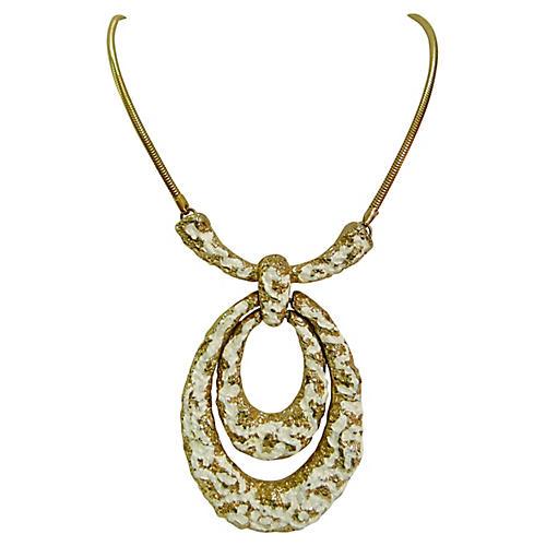 1970s Oversize Necklace