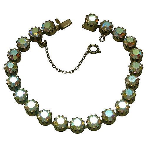 1950s Aurora Borealis Bracelet