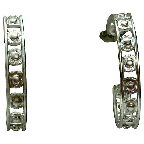 Givenchy Oversize Hoop Earrings