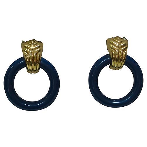 Givenchy Modernist Knocker Earrings