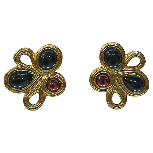 Givenchy Gripoix Earrings