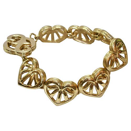 Givenchy Heart Gold Bracelet