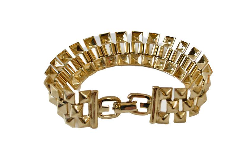 1980s Givenchy Track-Link Bracelet