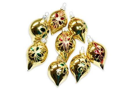Romanian Ornaments, S/8
