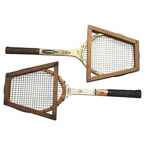 Wilson & Slazenger Tennis Rackets, S/2