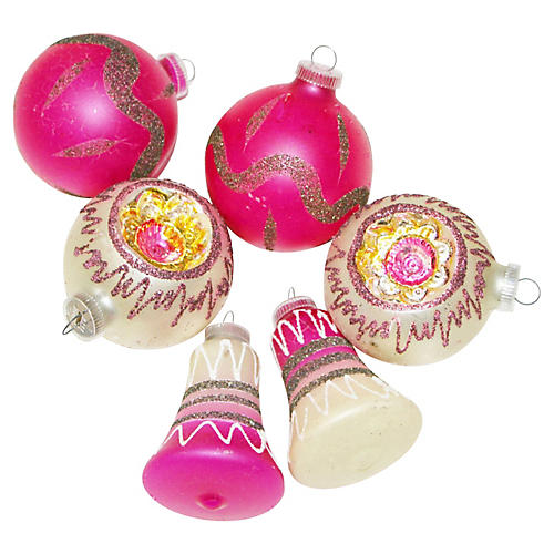 West German Ornaments, S/6